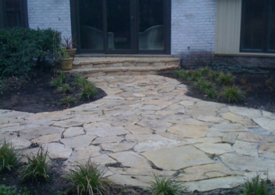Patios Natural Stone Curved