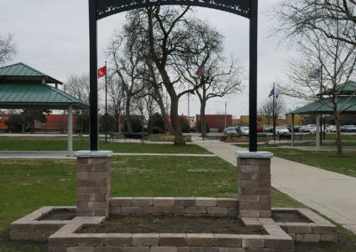 Retaining Wall Park Signage 2